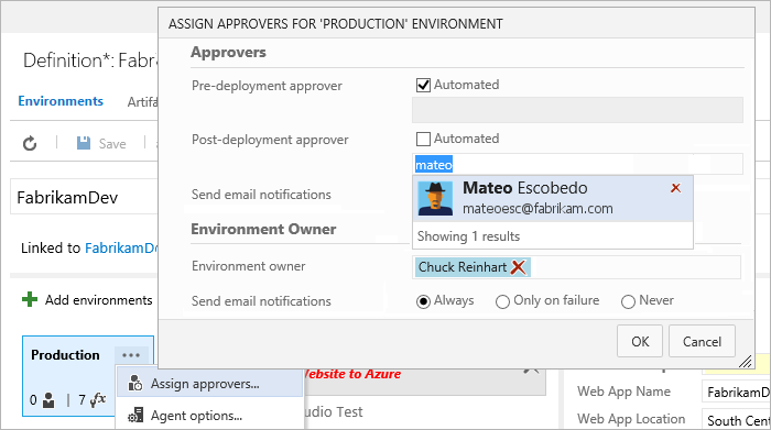 Team Foundation Server Approval Workflows